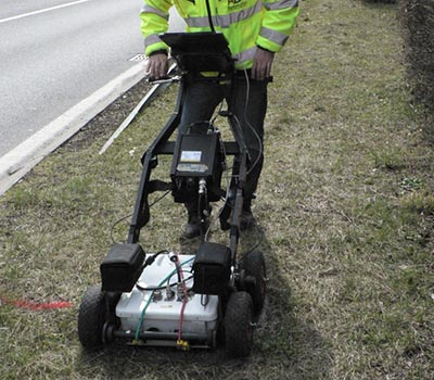 HiMod GPR designed for civil engineering purposes