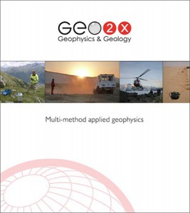 Cover of Geo2X Brochure