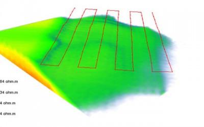 3D bedrock geometry