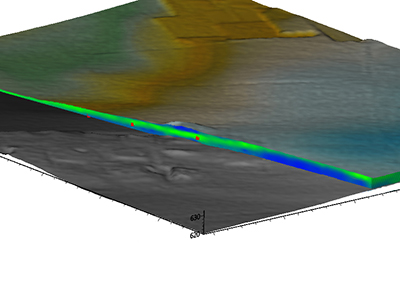 3D Quaternary cover thickness mapping